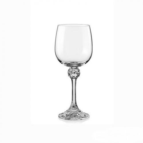 Ποτήρια κρυστάλλινα κρασιού Julia 230ml σετ 6 τεμαχίων