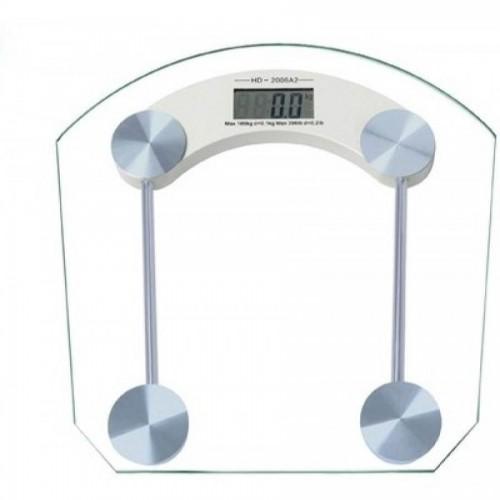 Ζυγαριά σώματος ψηφιακή γυάλινη 180kgr